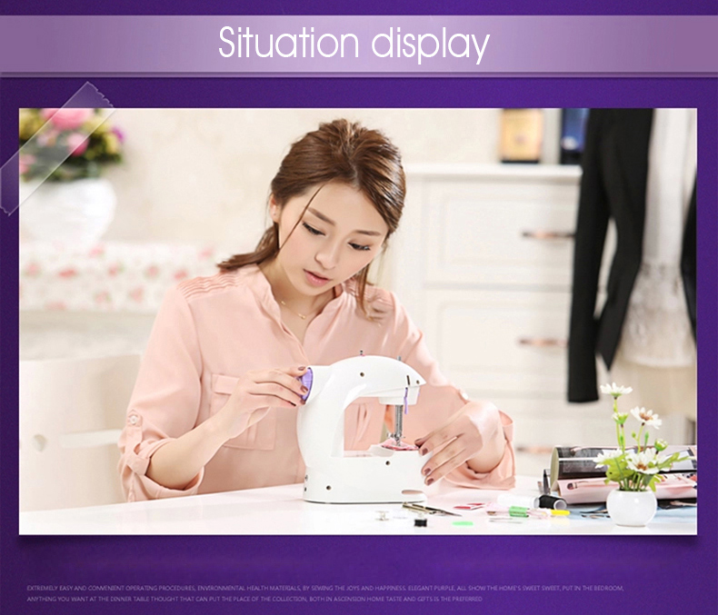 mini deluxe sewing machine situation display 202-11