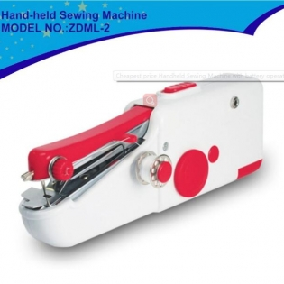 Mini Small The Model ZDML-2 Travel Portable Handheld Sewing Machine